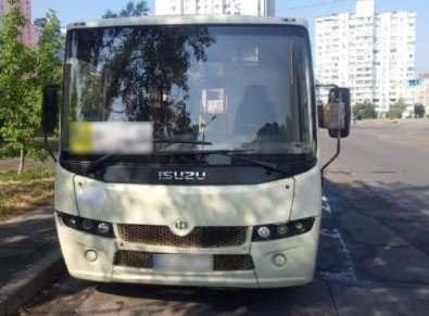 В Киеве пьяный водитель маршрутки перевозил пассажиров